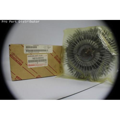คลัทช์ใบพัดลม รถยนต์โตโยต้า TOYOTA INNOVA2004-2006,FORTUNER2005-2006อะไหล่แท้(รหัสอะไหล่16210-0C010)