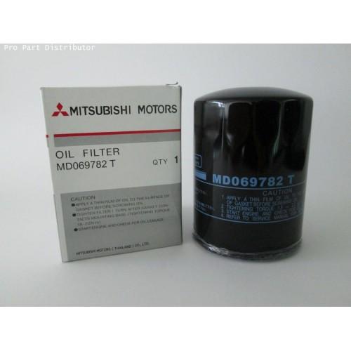 ไส้กรองนํ้ามันเครื่องรถยนต์ มิตซูบิชิ ไซโคลน MITSUBISHI CYCLONE  อะไหล่แท้มิตซูบิชิ(รหัส MD-069782T)