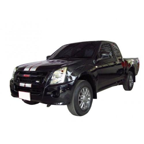 ไฟหน้า ข้างขวา แบบโปรเจคเตอร์  รถยนต์ Isuzu D-Max Platinum, Mu-7 2009–2011 อะไหล่แท้ (8-98101319-0)