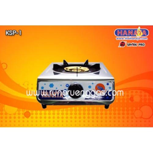 เตาแก๊สหัวเดี่ยว แบบวางเคาน์เตอร์ HANAYA รุ่น KSP-1A