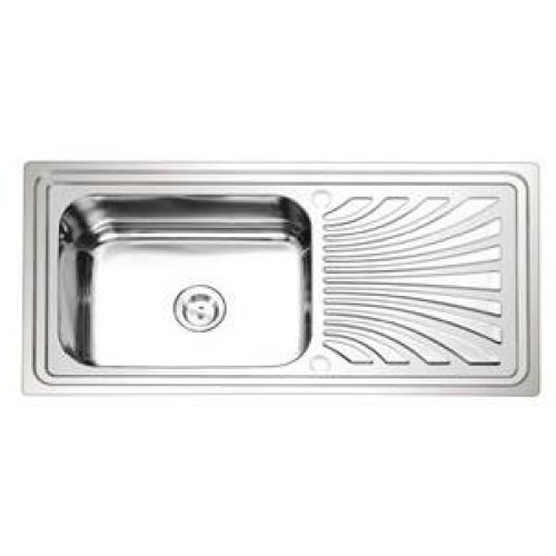 ซิ้งล้างจานแบบฝัง(อีฟ) EVE รุ่น PACIFIC 10050 เซนติเมตร