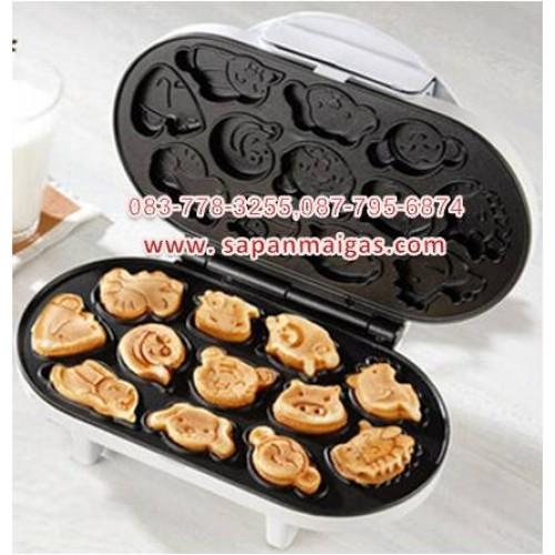 เครื่องทำขนมไข่เค้กแพนเค้ก การ์ตูน 12 ราศี