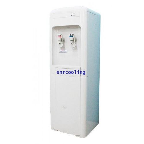 ตู้ทำน้ำร้อน-น้ำเย็น 2 ก๊อกต่อท่อ ไม่มีไส้กรอง ยี่ห้อ Puramun