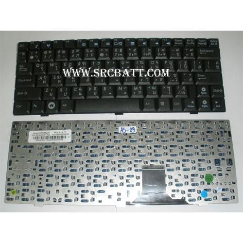 Keyboard Notebook สำหรับรุ่น Asus EEEPC-1000901904 (AS-03) คีย์บอร์ดโน๊ตบุ๊ก