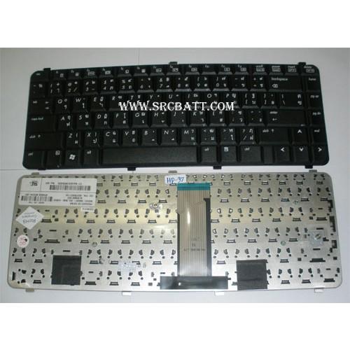Keyboard Notebook สำหรับรุ่น HPCompaq Presario CQ610(HP-37) คีย์บอร์ดโน๊ตบุ๊ก