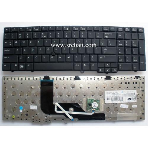 Keyboard Notebook รุ่น HPCompaq Probook 6540B 6545B 6550B (HP-62) คีย์บอร์ดโน๊ตบุ๊ค แถมสติ๊กเกอร์