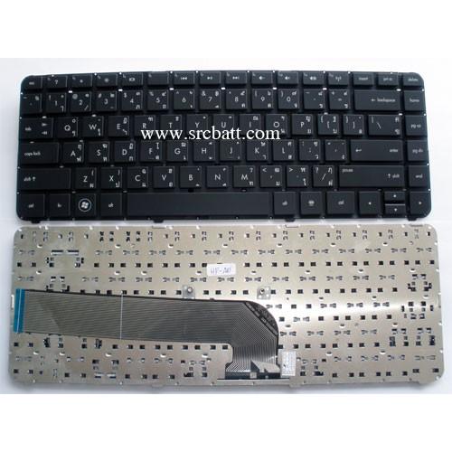 Keyboard Notebook รุ่น HPCompaq Pavillion DV4-3000 DV4-4000 (HP-45) คีย์บอร์ดโน๊ตบุ๊ค