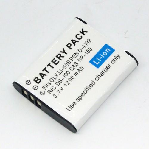 แบตเตอรี่ สำหรับ CASIO รหัสแบตเตอรี่ NP-150+ ความจุ 1200mAh (Battery Camera)
