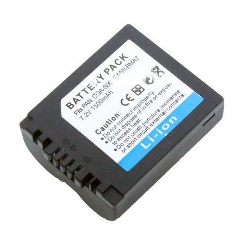 แบตเตอรี่ สำหรับกล้อง Panasonic รหัสแบตเตอรี่ S006+ ความจุ 1500mAh (Battery Camera)