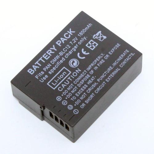 แบตเตอรี่ สำหรับกล้อง Panasonic รหัสแบตเตอรี่ BLC12+ ความจุ 1800mAh (Battery Camera)