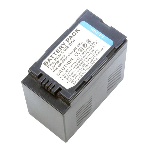 แบตเตอรี่ สำหรับกล้อง Panasonic รหัสแบตเตอรี่ D54S+ ความจุ 6000mAh (Battery Camera)