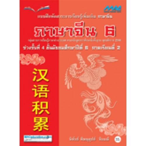 แบบฝึกหัด ภาษาจีนเพิ่มเติม ม.6 เทอม 2