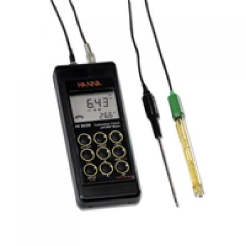 เครื่องวัดค่าพีเอช,เครื่องวัดค่ากรดด่างเเบบภาคสนามยี่ห้อ HANNA รุ่นHI9125 AUTO-iNSTRUCTION Ph meters