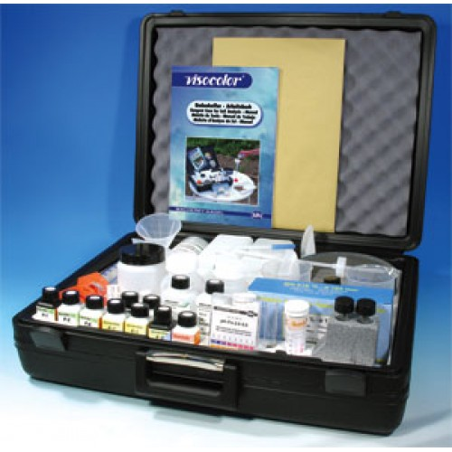 ชุดทดสอบคุณภาพความเค็มน้ำอย่างง่าย VISOCOLORamp;reg; reagent case for soil analysis ยี่ห้อMN