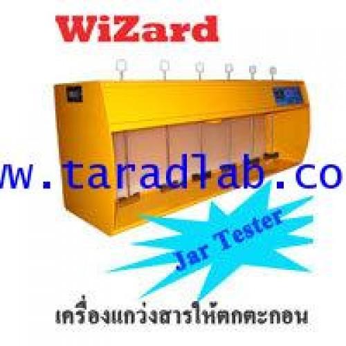 เครื่องแกว่งสารให้ตกตะกอน Jar TesterJar Test wizard plus6