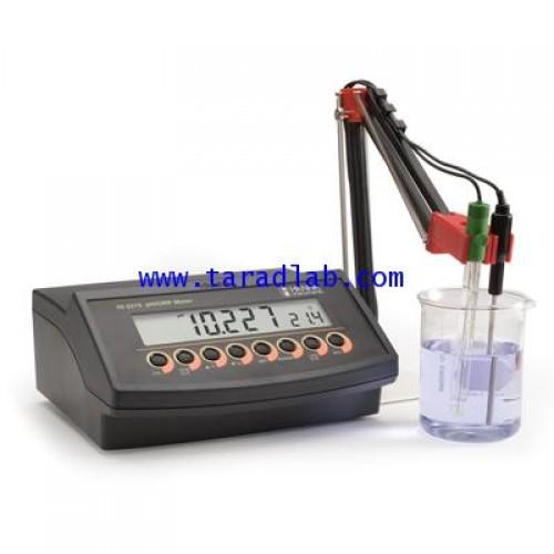 เครื่องวัดค่าพีเอชเเบบตั้งโต๊ะ Resolution and Data Logging pH Benchtop Meter รุ่น HI2215