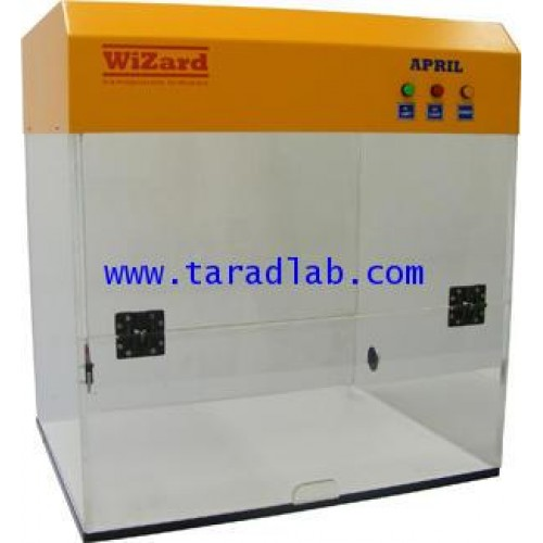ตู้ปฏิบัติงาน พีซีอาร์ PCR Cabinetรุ่น APRIL  ยี่ห้อ WiZard
