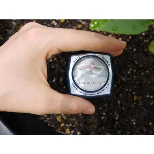 เครื่องวัดค่าดิน ph meter เครื่องวัดกรดด่างและความชื้นในดิน ยี่ห้อ Takemura รุ่น DM15