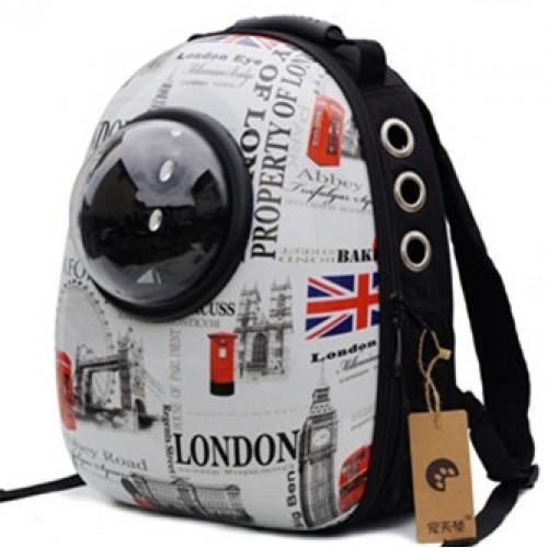 กระเป๋าสะพาย สำหรับน้องแมว สำหรับน้องแมวที่ชอบเดินทาง พร้อมอุปกรณืเสริมที่มากกว่าถึง 6 อย่าง