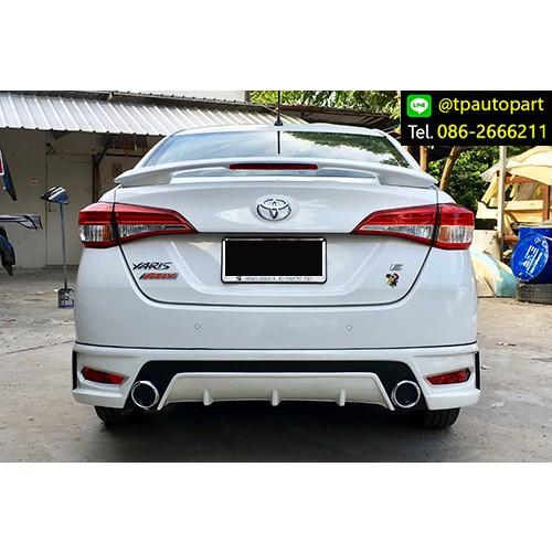 ชุดแต่งยาริส 2017 2018 เอทีฟ Toyota Yaris Ativ T-Sport STROM สเกิร์ตรอบคัน