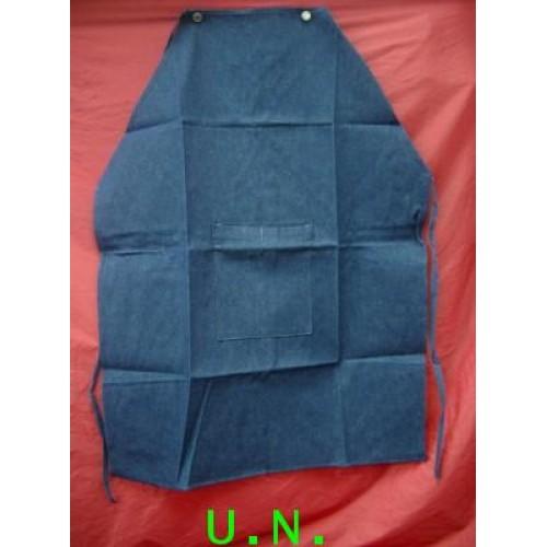 เอี๊ยมยีนส์ มีกระเป๋ากลาง(กว้าง 60 ซม * ยาว 100 ซม)