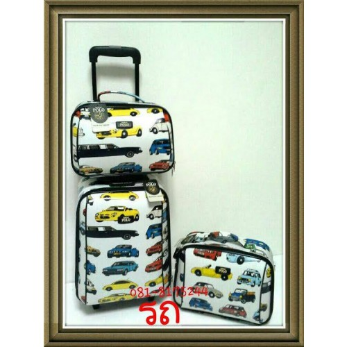 กระเป๋าเดินทางเซ็ตคู่แม่ลูก รุ่น เซ็ต 3 ใบ ราคาพิเศษ 1,990 บาท