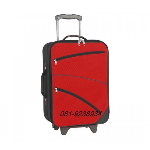 กระเป๋าเดินทาง 24 นิ้ว ลายแต่งซิป (สีม่วงสีเทาสีฟ้าสีน้ำเงินสีแดง) ราคา พิเศษ! 1,800 บาท